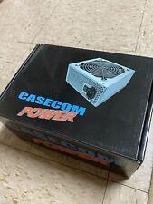 Casecom ATX350W 350W ATX Power Supply + 12CM Black Fan Unit / PSU - NEW IN BOX