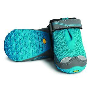 Ruffwear, Grip Trex Hundeschuhe, atmungsaktiv, 1Paar, Blue Spring, 51mm