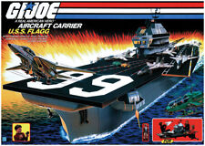 Hasbro 1985 G.I. Joe U.S.S. Flagg Aircraft Carrier Poster Print > Yo Joe! 🔥😎🔥