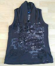 CECIL Shirt Grau Baumwolle Gr S/M NEUWERTIG