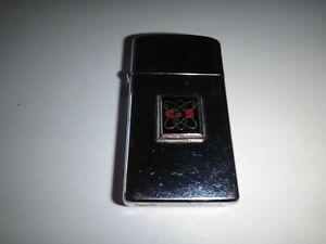 """An 1972 Zippo Slim Briquet Avec Affaire Logo """" G Signal Services """""""