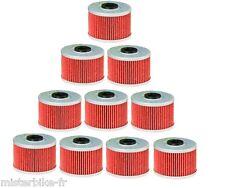 Pack / Lot de 10 Filtres a huile QUAD SUZUKI 400 LTZ LTR