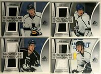 4 Card Jersey Lot 2019-20 Upper Deck SP Game Used Showcase Standouts Jack Eichel