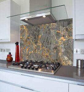 Printed Kitchen Glass Splashback - Toughened & Heat Resistant Cooker Panel 1035