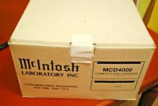 Rare Old School Mcintosh Mcd4000 Cd Changer New In The Box With Cable Brackets