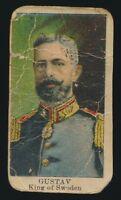 E6 Rulers -- Gustav King of Sweden -- Lauer & Suter Co.