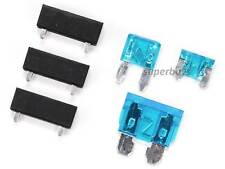 3pcs Fuse Adapter Holder PCB Mount Universal + Standard Mini Micro Blade Fuses
