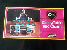 Vintage Pedigree Sindy #44527 - Dining Table & Chairs Box Only (No Contents)