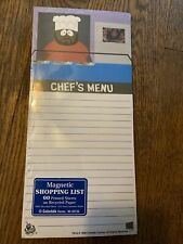 South Park Notes Magnetic Shopping List 10 X 5 Chef