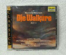 NEW Wagner DIE WALKURE CD Telarc Lorin Maazel Susan Dunn Klaus Konig Peter Meven