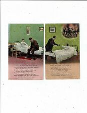 POST CARDS BAMFORTH SONG CARDS DON`TGODOWN THE MINE DAD Nos. (1) (3)