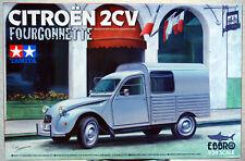 195x Citroen 2 CV Fourgonette 1:24 Tamiya Ebbro 93034