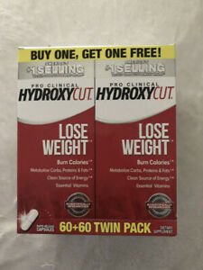 Hydroxycut Pro Clinical 60 Weight Loss Capsules Dietary Supplement 2 PACK