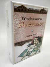 Oracle interdit de Shaérazade jeu de cartes divinatoires neuf en Français