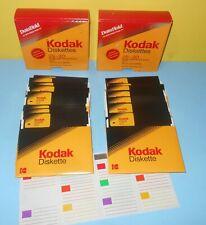 KODAK 2S - 2D 5 1/4 Diskettes Discs Double Sided Double Density - 17 in all
