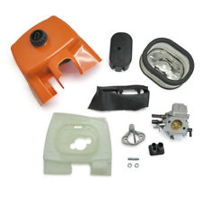 Fits Stihl 066 MS660 MS650 Chainsaw Carburetor WJ-67,Air filter,Cover,Baffle