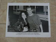 Bryan Adams Chrissy Steele 8x10 B&W Publicity Picture Promo Photo
