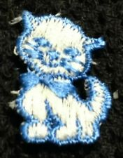 "Tiny Cat Kitten Embroidered Patch 1"" Kitty"