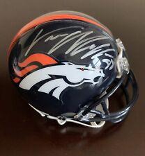 VON MILLER JSA Certified MINI HELMET DENVER BRONCOS NFL Texas A&M