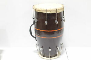 Maharaja Musicals Dholki Mango Wood Bolt-tuned Spanner Dholak Drum