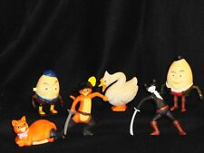 "LOT OF SIX (6) ""PUSS 'N BOOTS"" FIGURES FROM MCDONALDS"