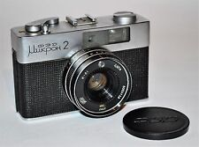 "1980 Very Rare Russian Ussr ""Fed Micron 2"" camera + Industar-81 lens, f2.8/38mm"