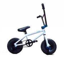 New Limited Edition 1080 Kids Stunt Freestyle Mini BMX Bike White & Blue