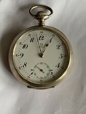 Solid Silver Omega Suisse Pocket Watch c1900 5560590 Exquisite Quality Working
