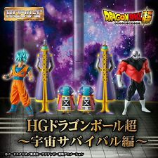 DRAGON BALL SUPER HG SPACE SURVIVOR FULL SET BANDAI FIGURE NUEVA NEW. PRE-ORDER