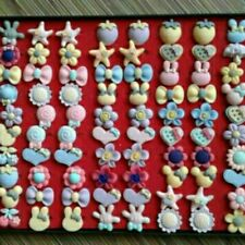 100pcs Cute Baby Brooch with Box