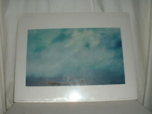 """Herb Jones 1995 Numbered and Signed Print """"Doryman"""""""