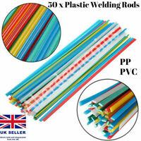 50 x Plastic Welding Rods ABS/PP/PVC/PE Fairing Sticks Gun Welders Arts Hobby