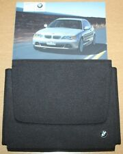 BMW 3 SERIES COUPE E46 HANDBOOK WALLET 2003-2006 PACK 8676