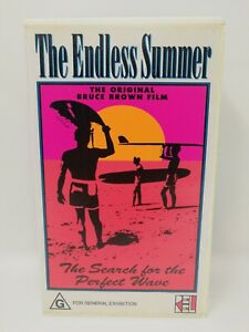 Bruce Brown's The Endless Summer - Surfing Movie - Surf - VHS Video Tape