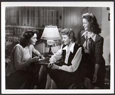 JENNIFER JONES Claudette Colbert SHIRLEY TEMPLE 1941 Vintage Orig Photo actress