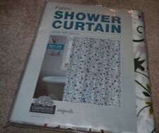 "NEW Deck The Halls Shower Curtain XMAS Christmas Holiday Fabric 70"" X 72"" NIP"