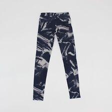 H&M Womens Size 8 10 30L Short Leg Slim Skinny Stretch Blue Jeans