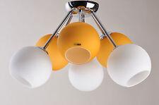 Lampadario 6 sfere di vetro F.Fabbian Design - Vintage
