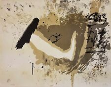 "ANTONI TAPIES ""UNTITLED"" 1970 