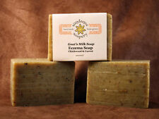 Homemade Goat's Milk Soap ~Eczema Lavender And Tea Tree EO ~ Handmade Soap