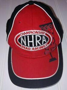 NHRA Nitro Kid Hat Youth Cap by Main Gate 100% Cotton Hook & Loop Closure