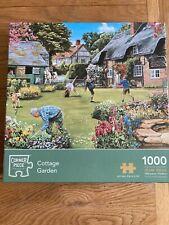 CORNER PIECE Puzzle- COTTAGE GARDEN (1000 PIECES)