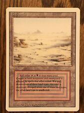 MTG Dual Land Badlands, Revised, Magic The Gathering, Great Condition NM
