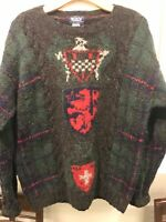 Vintage Woolrich Mens Sweater Size Large