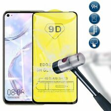 For Huawei P40/Lite/Lite E 9D Curved Full Cover Tempered Glass Screen Protector