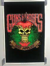 Guns 'N' Roses Bad Apples Blacklight Poster 23 x 35 Vintage Original Rare New