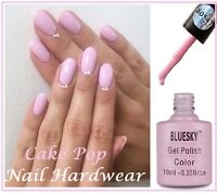 BLUESKY CAKE POP PASTEL PINK SUMMER SPLASH 80547 UV GEL NAIL POLISH FREE P+P