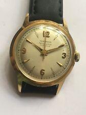 Vintage RARE MEN Aus einer Uhrensammlung Junghans Trilastic 17Jewels Armbanduhr