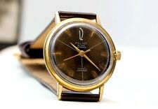 Poljot de luxe Automatic Kirova Gold Plated Case USSR Russian Soviet Men's Watch