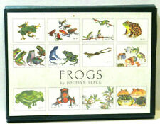 Jocelyn Slack Frogs Stationery 8 Unique Frogs with Envelopes ~ 1993 ~ 8 of 12